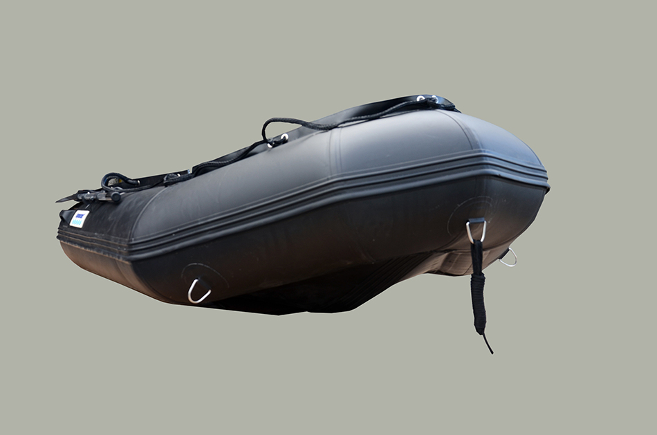 10 Ft Inflatable Boat Military Black Made Of Heavy Duty 1