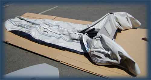 Inflatable Boats Instruction For Deflating And Folding