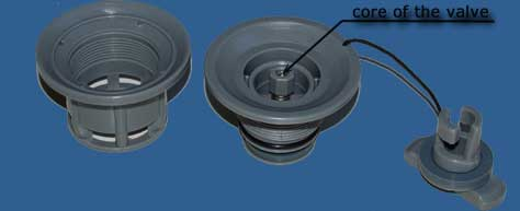 H-R Valve for inflatable boat