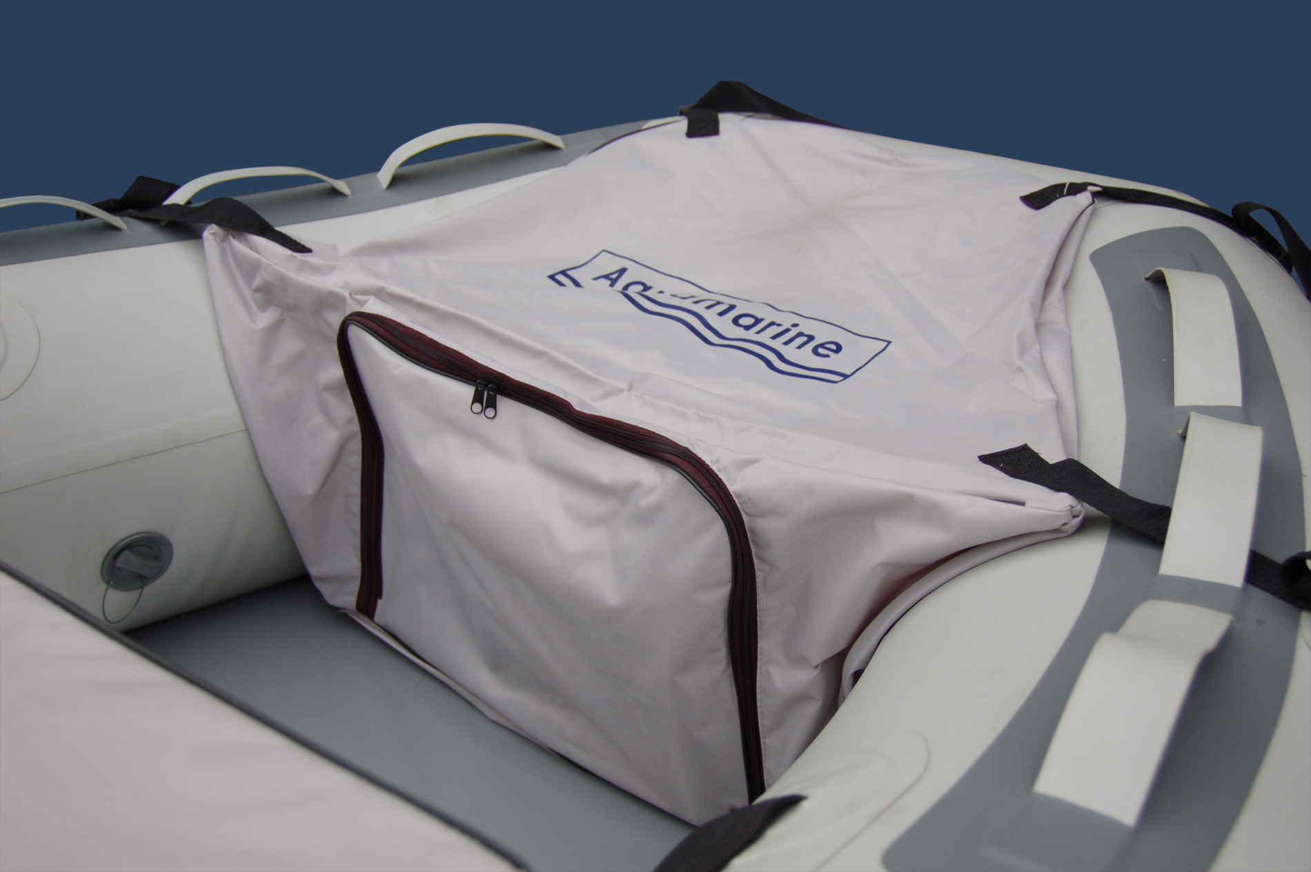 bow storage ... & Bow Bag for inflatable boat -Gray Aquamarine Inflatable Boats