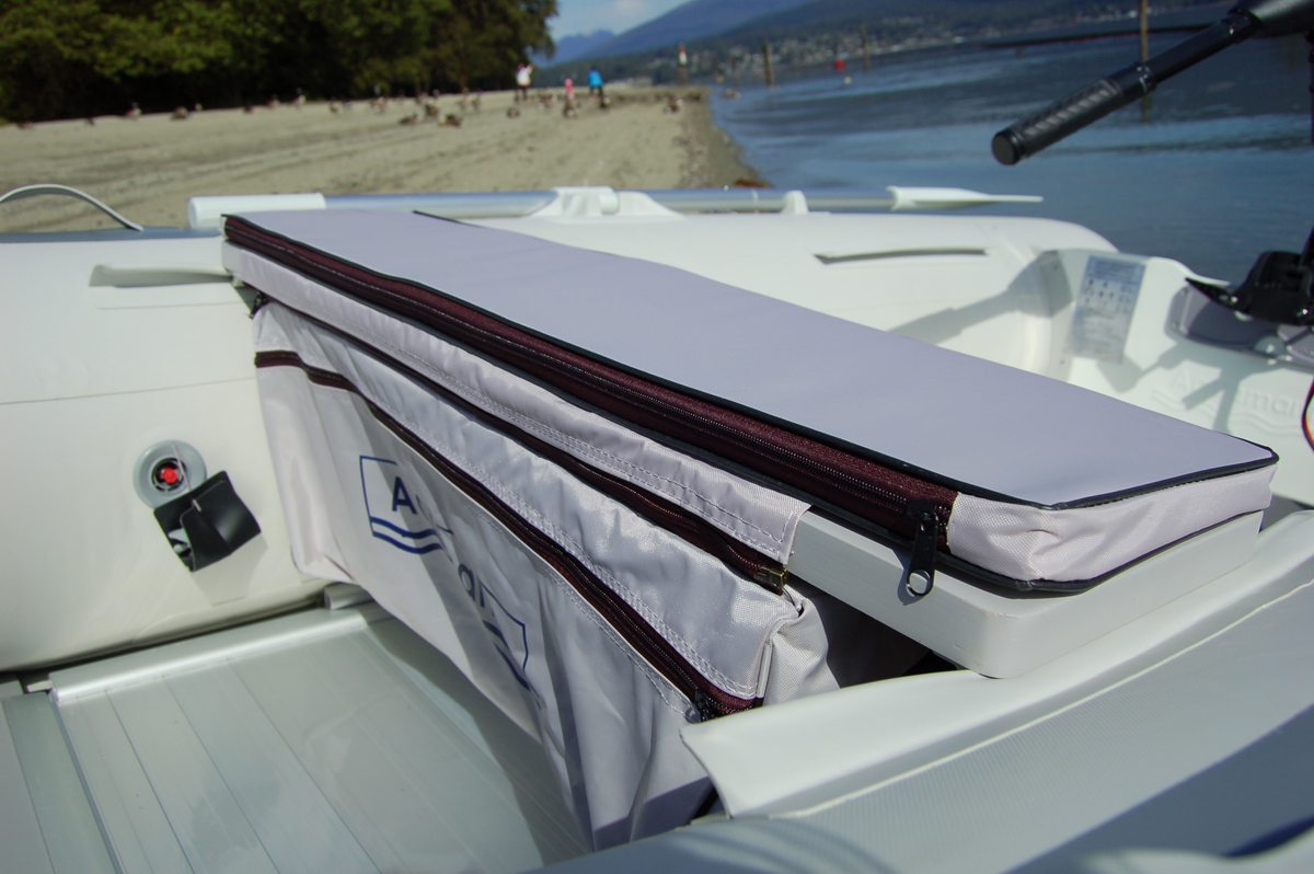 Removable Under Bench Seat Storage Bag For Inflatable Boat. Storage ...