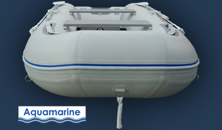10' inflatable pvc boat with fiberglass transom