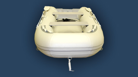 11 ft inflatable boat with air deck floor