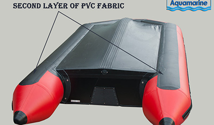 10 ft  inflatable  second layer of fabric protection under tubes