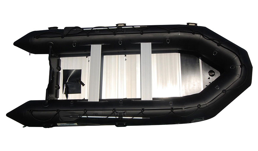 14' inflatable boat heavy duty 1.2 mm PVC aluminum floor