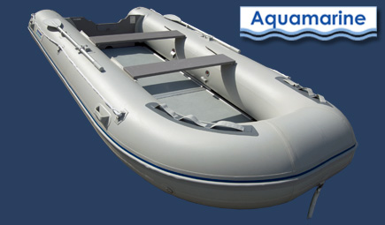 14 ft inflatable boat with fiberglass floor