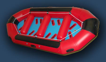 14 ft inflatable  whitewater raft