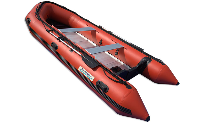 15.5' inflatable boat raft pantoon rescue