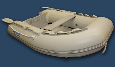 7.5 ft Inflatable fishing boat with PLYWOOD  FLOOR