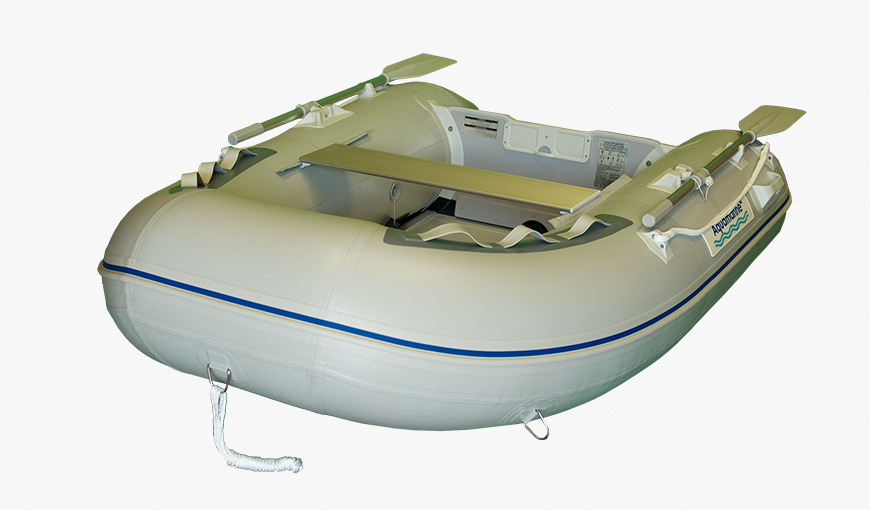 7.5 ft inflatable boat DINGHY with aluminum floor