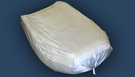 Accessories for 12.5 ' INFLATABLE BOAT PRO -12'_12.5' boat cover (360cm_380cm)  WIDTH 70