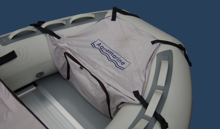 bow storage bag for inflatable boat
