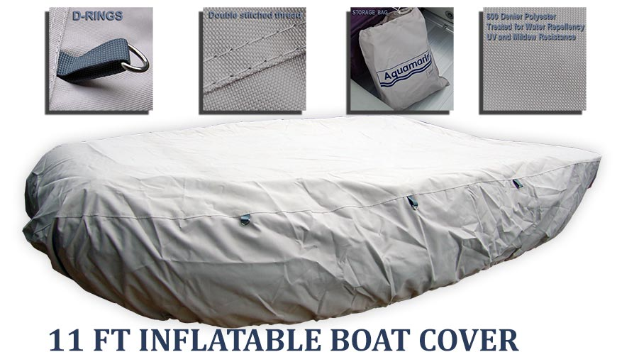 11 feet boat cover (330cm) heavy duty marin fabric