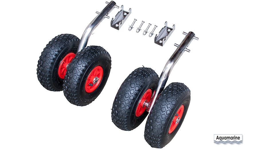 Related Products Heavy Duty Launching wheels -Stainless-Double Launching Wheels  STAINLESS QUICK RELEASE