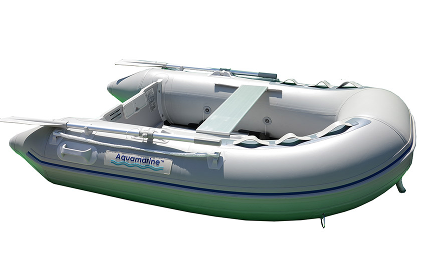 7 ft Inflatable dinghy with marine plywood floor