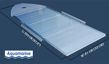 ALUMINUM FLOOR BOARDS FOR 11 ft  INFLATABLE BOAT with dimmention