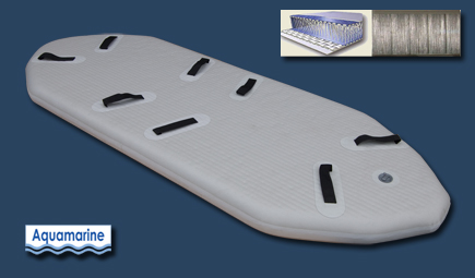 Air floor for 12 ft inflatable white water river raft