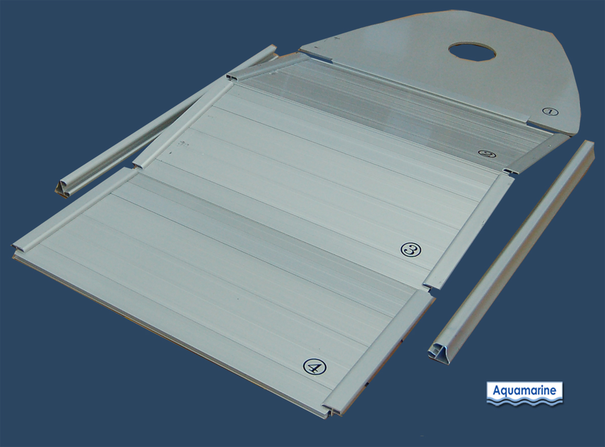 Aluminum Floor for 9.8' inflatable Boat Aquamarine ...