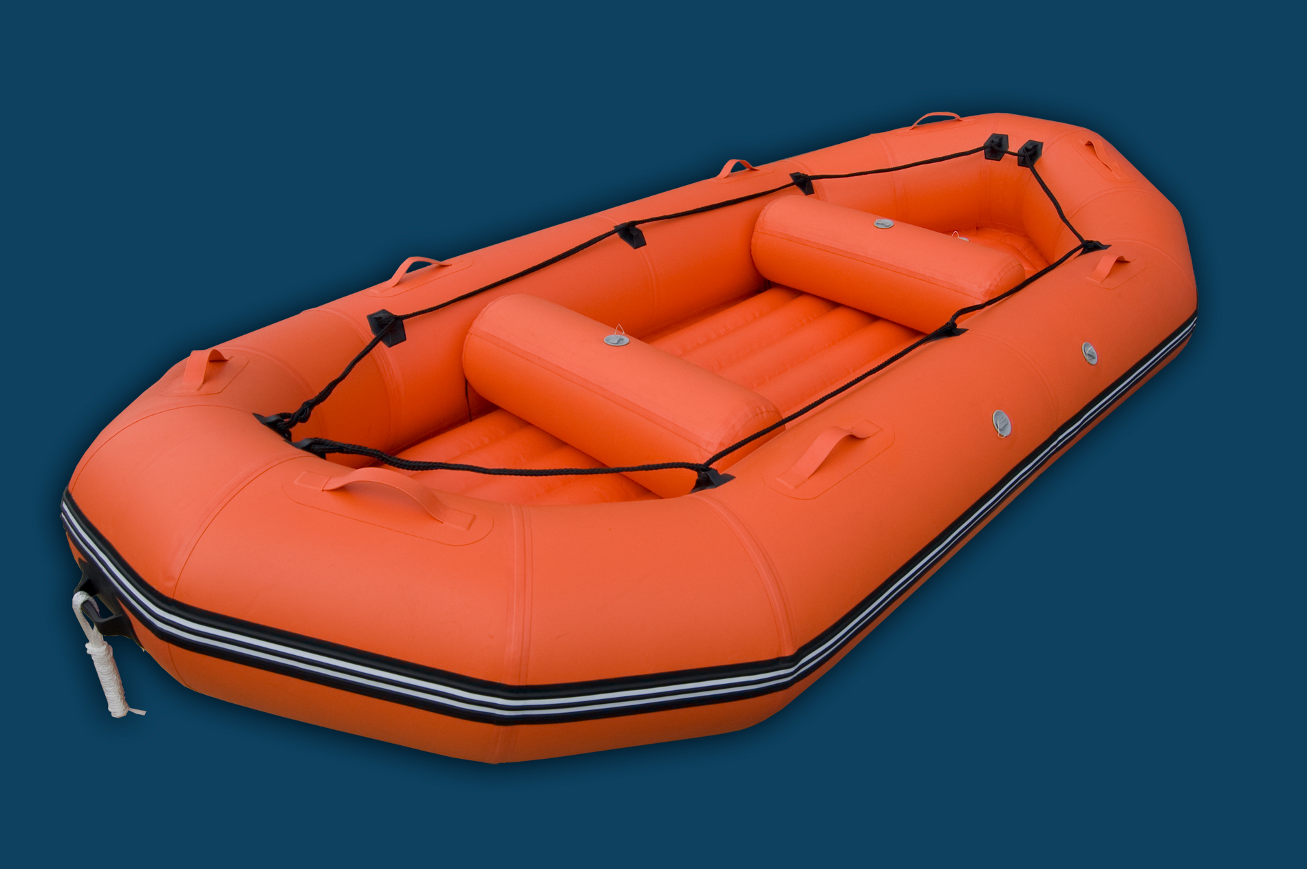 12 Ft Inflatable River Raft Aquamarine Inflatable Boats