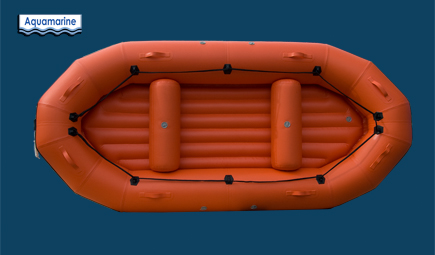 12 ft river boat with blow up inflatable floor