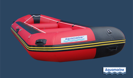 Whitewater inflatable rafts 14 ft red