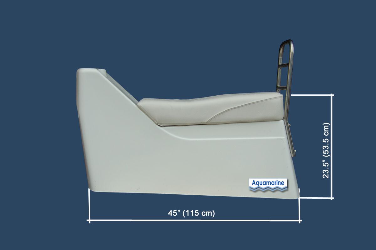 Fiberglass Seat For Inflatable Boat Jockey Console