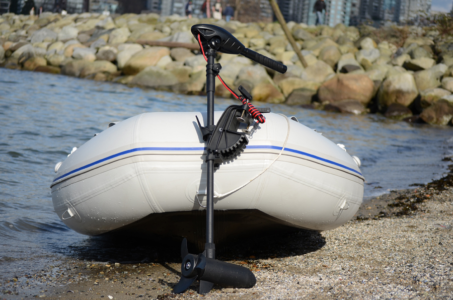 Trolling motor 55 lbs electric outboard long shaft