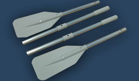 Paddles for aqumarine inflatable raft