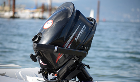 outboard motor 4 hp for fishing inflatable boat