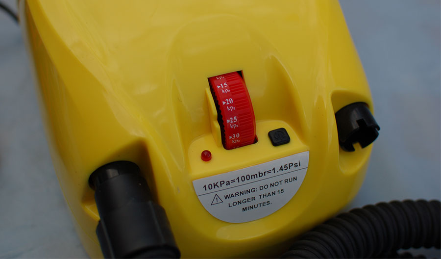 Boat Pump 12V Digital Electric External Auxiliary Battery For SUP Kayak