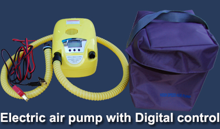 Pump For Inflatable Boats with Digital Control