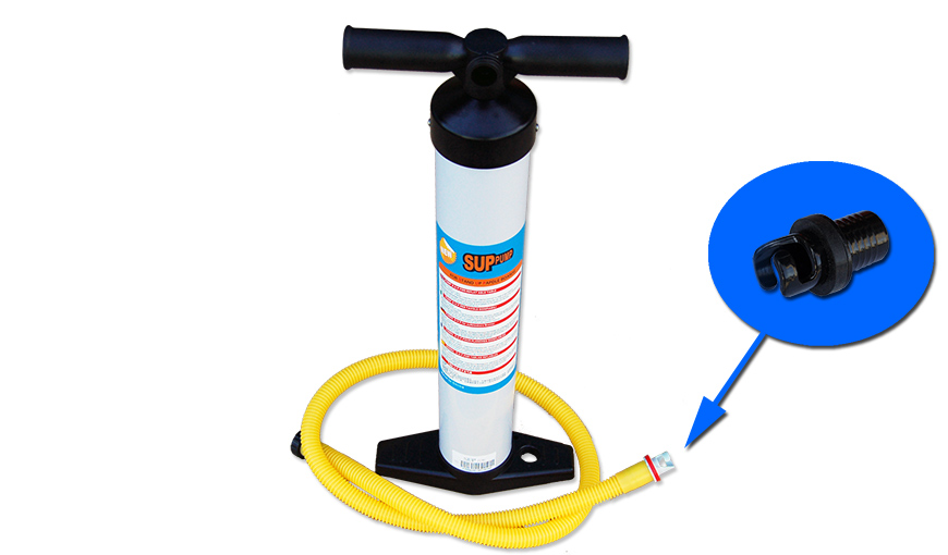 Accessories for 11 FT INFLATABLE SUP BOARD-Hand SUP Pump