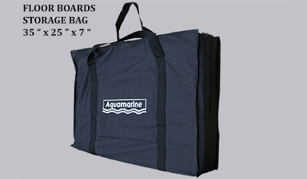Accessories for Underseat stoarge bag with Cushion -grey-Floor boards Storage bag for inflatable boat