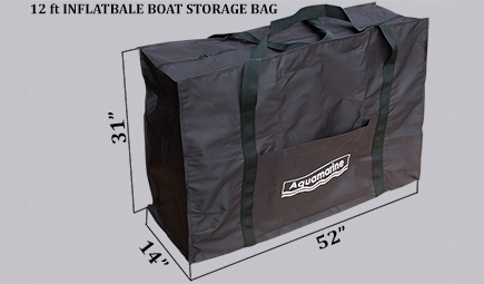 STORAGE CARRYING BAG for Inflatable boats 12 ft 12.5 ft HULL BAG