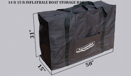 Accessories for 14 ' whitewater inflatable river raft-Storage bag for 14 ft inflatable boat