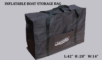 Accessories for 12 ' ft whitewater inflatable river raft-Inflatable boat storage bag