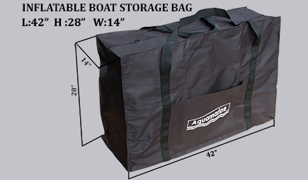 Carrying bag for inflatable boat 8 ft , 9 ft , 10ft  ZODIAC ZIP