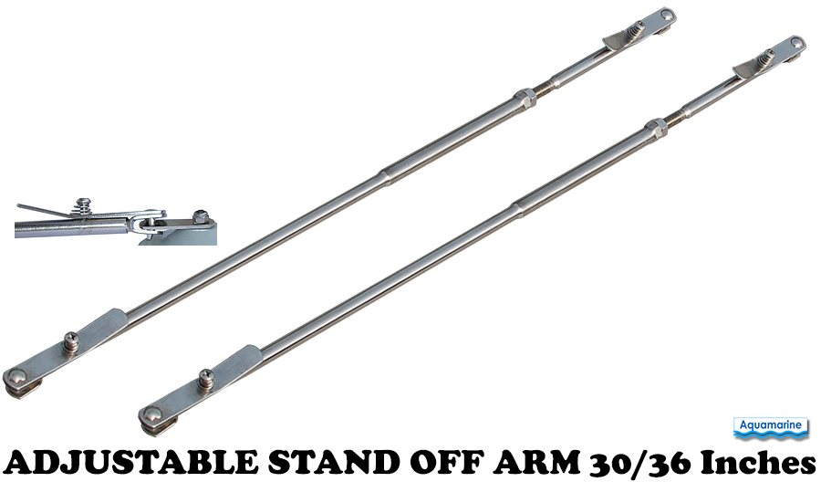 Boat Stand Off ARM for inflatable dinghy