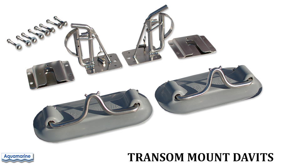 Transom mount davits for Inflatablel boat