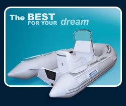 Aquamarine inflatable boats, river rafts, RIBs, launching wheels and