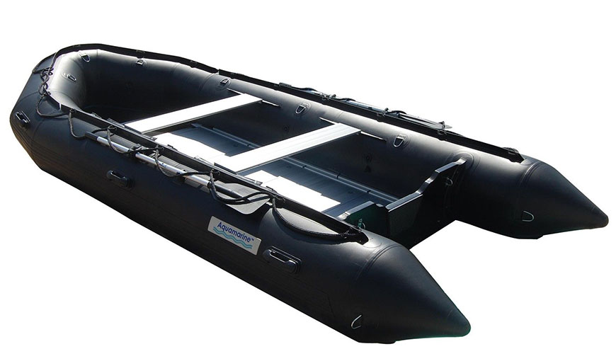 15 5 Inflatable Boat With Aluminum Floor