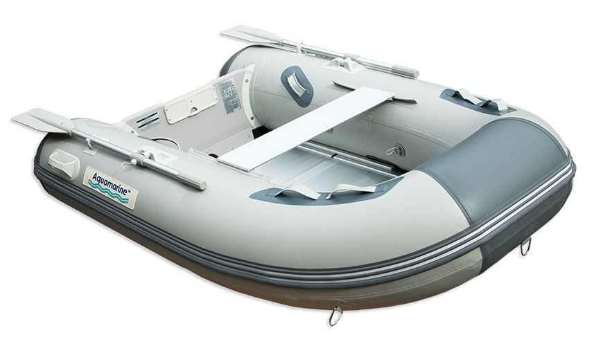 7 5ft Inflatable Dinghy With Aluminum Floor Waterline