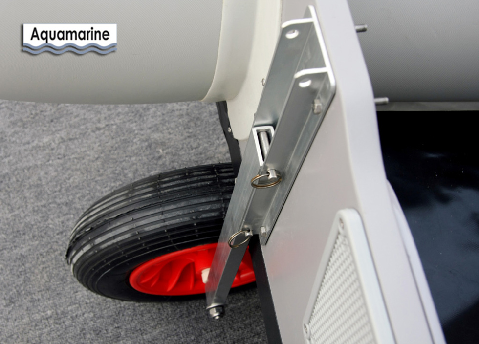Launching Wheels For Inflatable Aluminum Boat