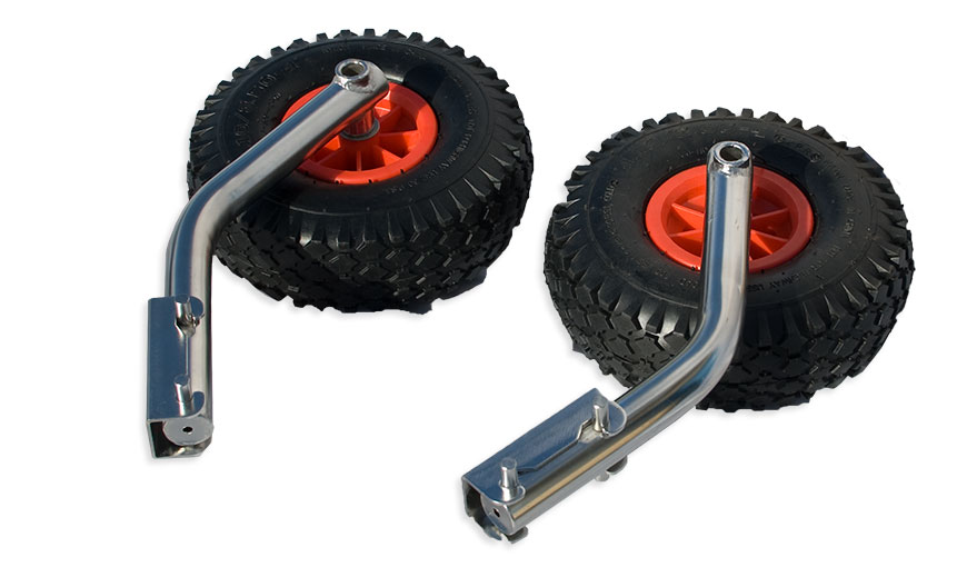 Boat Launching Wheels For Inflatable Dinghy Quick Release